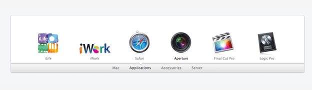 Apple Mac Navigation