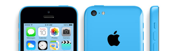 Déconstruction du site Web d'Apple iPhone 5C.