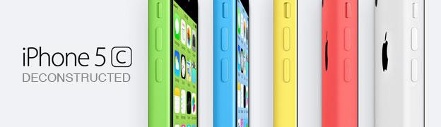 Apple iPhone 5C website deconstructed.