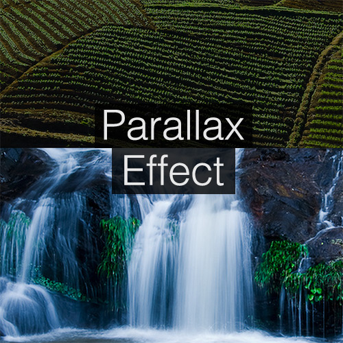 How to create a parallax scrolling website using Skrollr js