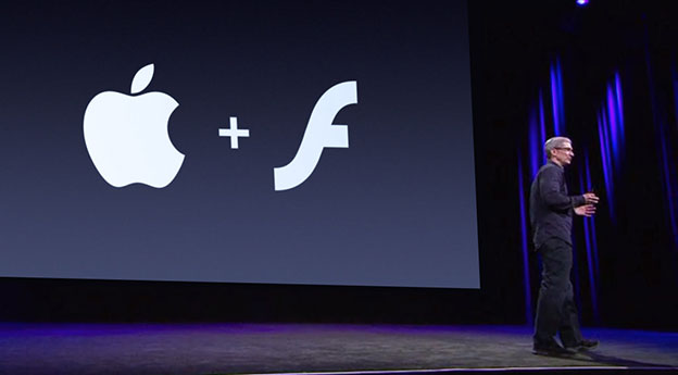 Apple annouces Flash support