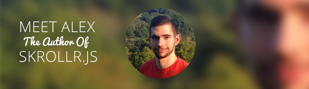 Meet Alexander Prinzhorn - The author of Skrollr.js