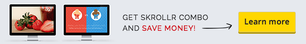 Get even better value by getting Skrollr Combo!