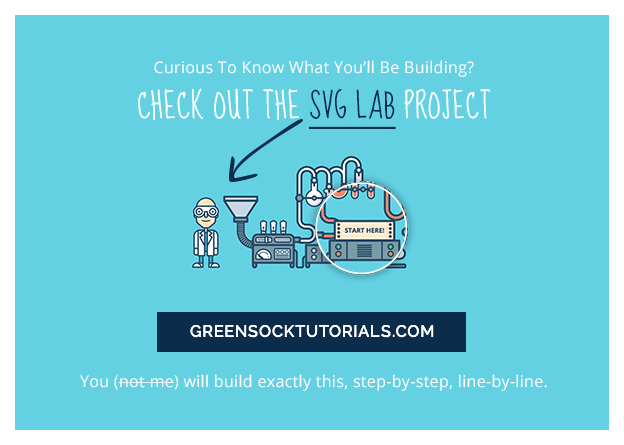 Visit GreenSock Tutorials to see the SVG Lab project live.