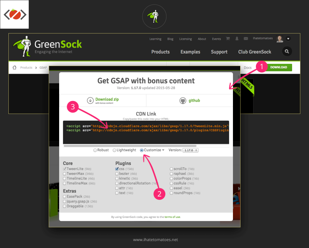 GreenSock - Download