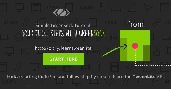 Simple GreenSock Tutorial - Your first steps with GSAP