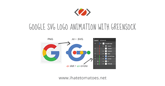 Google SVG Logo Animation With GreenSock