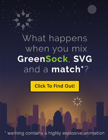 Happy New Year - GreenSock SVG Animation!