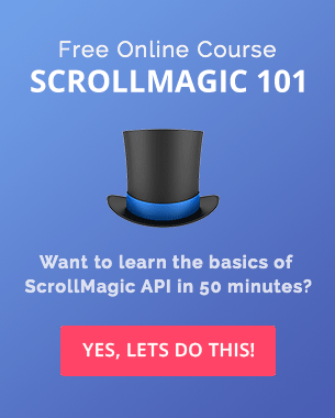 ScrollMagic 101 - Signup Now!