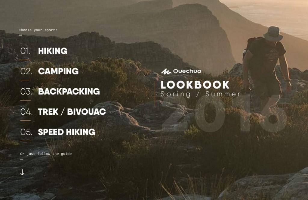 Quechua Lookbook
