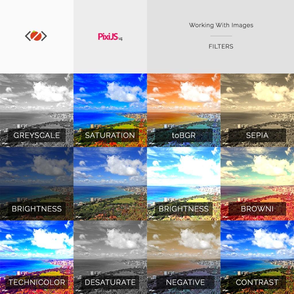 Pixi.js ColorMatrixFilter