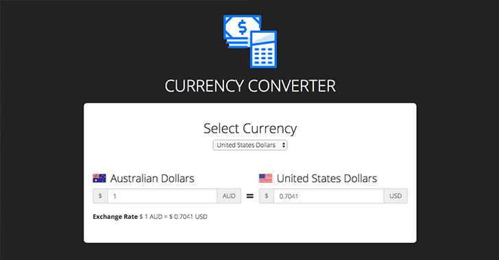 React Currency Converter
