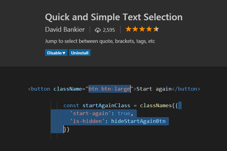 Quick and Simple Text Selection