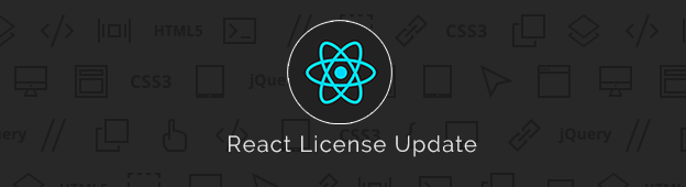 React License Update