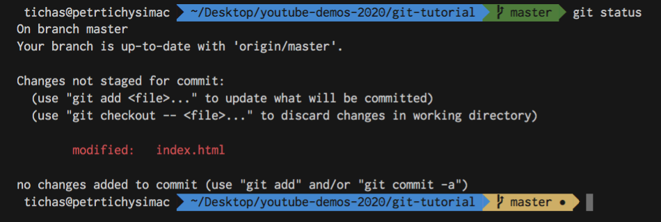 Git Tutorial for Beginners - Status