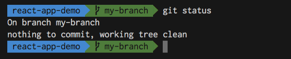 Git clean branch