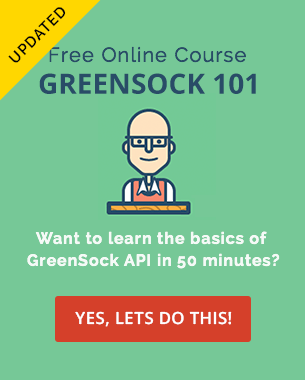 GreenSock 101 - Signup Now!