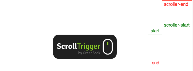 ScrollTrigger start option.